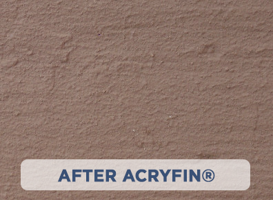 After ACRYFIN ® Acrylic Polymer Coatings