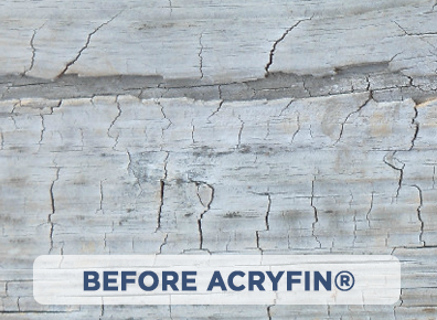 Before ACRYFIN ® Acrylic Polymer Coatings